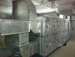 Система приточно-вытяжной вентиляции и кондиционирования VRV в подземном торговом центре