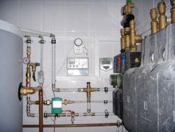 Cистемы отопления и котельная